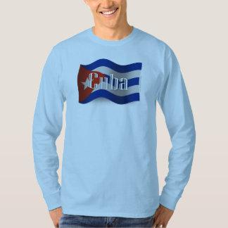 Cuba Waving Flag Shirt