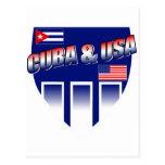 Cuba y los E.E.U.U. Postal