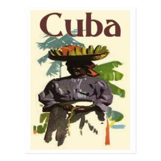 Cuba y mujer criolla postales