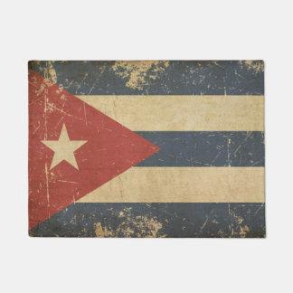 Cuban Aged Flat Flag Doormat