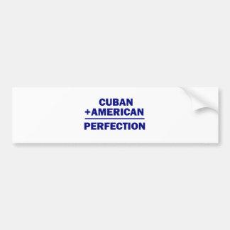 Cuban American Heritage Bumper Sticker