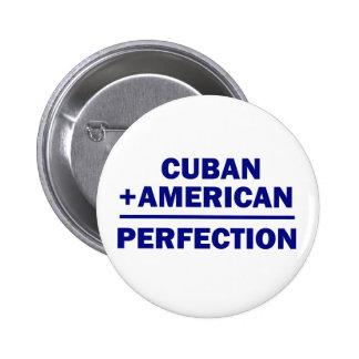 Cuban American Heritage Pinback Button
