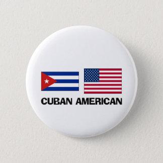 Cuban American Pinback Button