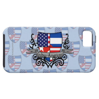 Cuban-American Shield Flag iPhone 5 Covers