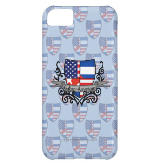 Cuban-American Shield Flag Cover For iPhone 5C