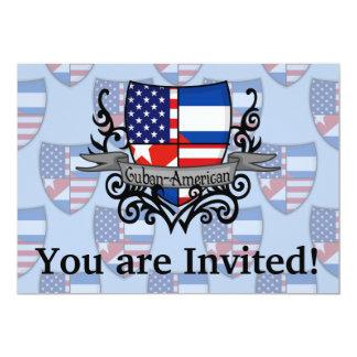Cuban-American Shield Flag Invitation