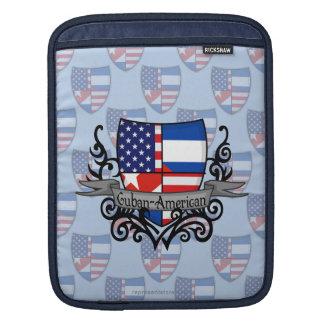 Cuban-American Shield Flag iPad Sleeve