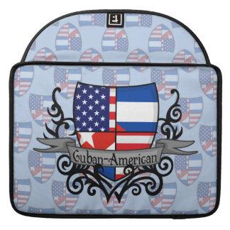 Cuban-American Shield Flag MacBook Pro Sleeve