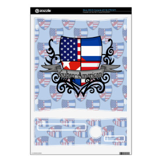 Cuban-American Shield Flag Skins For The Xbox 360 S
