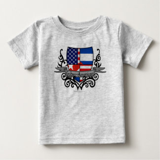 Cuban-American Shield Flag T Shirt