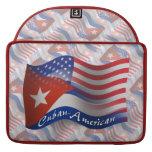 Cuban-American Waving Flag MacBook Pro Sleeves
