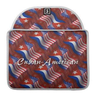 Cuban-American Waving Flag Sleeves For MacBook Pro