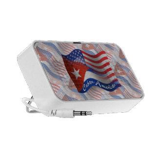 Cuban-American Waving Flag Speakers