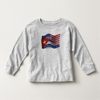 Cuban-American Waving Flag Toddler T-shirt