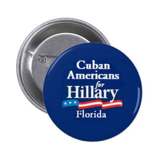 CUBAN AMERS FLORIDA Button