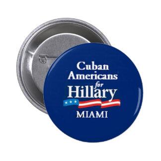CUBAN AMERS MIAMI Button