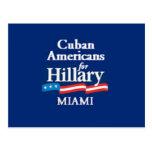 CUBAN AMERS MIAMI Postcard