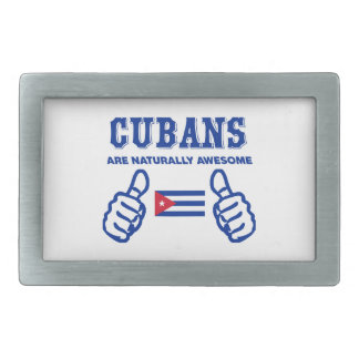 Cuban are naturally awesome belt buckle