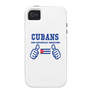 Cuban are naturally awesome iPhone 4 case
