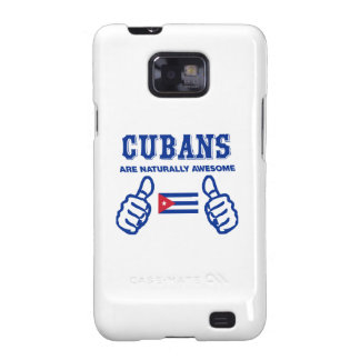 Cuban are naturally awesome samsung galaxy s2 covers