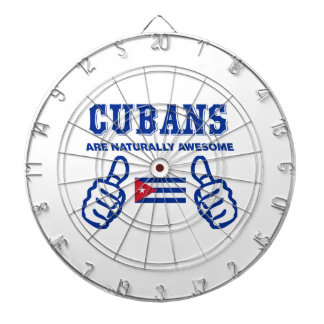 Cuban are naturally awesome dart board