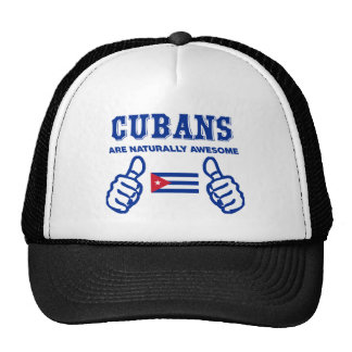 Cuban are naturally awesome trucker hat