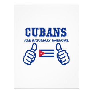 Cuban are naturally awesome letterhead