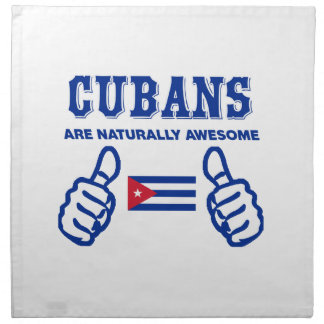 Cuban are naturally awesome napkin