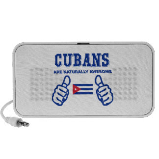 Cuban are naturally awesome notebook speakers