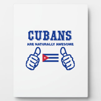 Cuban are naturally awesome photo plaques