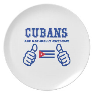 Cuban are naturally awesome plates