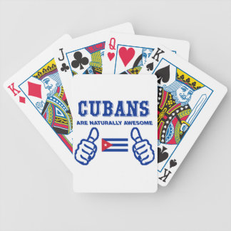 Cuban are naturally awesome bicycle playing cards