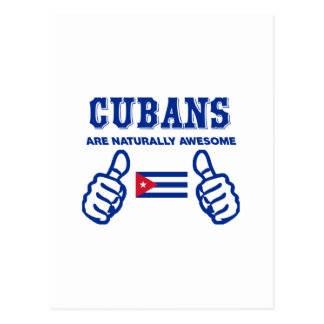Cuban are naturally awesome postcard