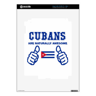 Cuban are naturally awesome decals for the iPad 2