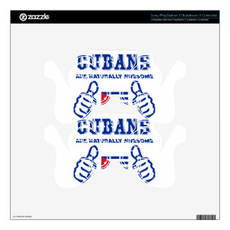 Cuban are naturally awesome PS3 controller decal