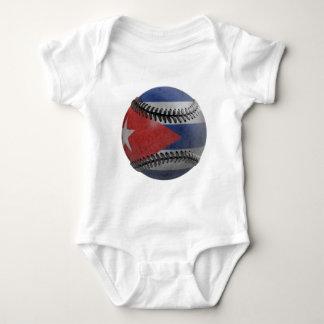 Cuban Baseball Baby Bodysuit