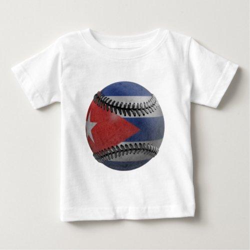 Cuban Baseball Baby T_Shirt