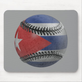 Cuban Baseball Mouse Pad