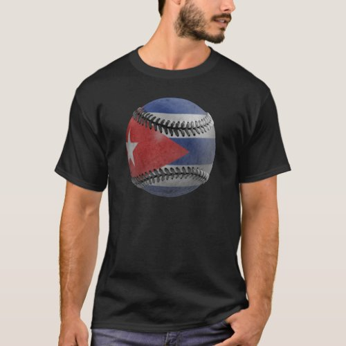 Cuban Baseball T_Shirt