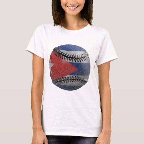 Cuban Baseball T_Shirt