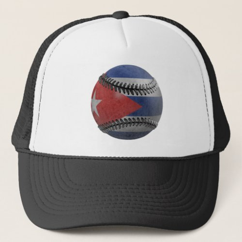 Cuban Baseball Trucker Hat
