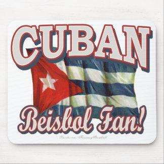 Cuban Beisbol Fan! Mousepad