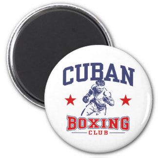 Cuban Boxing Magnet