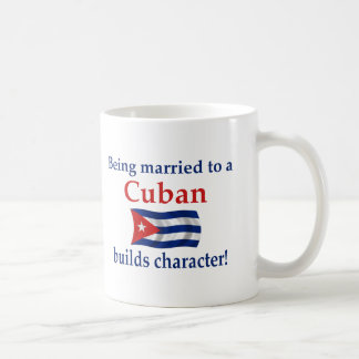 Cuban Builds Character Coffee Mug