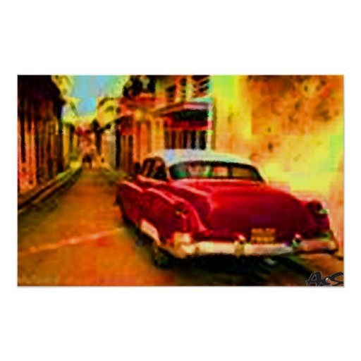 cuban caddy poster