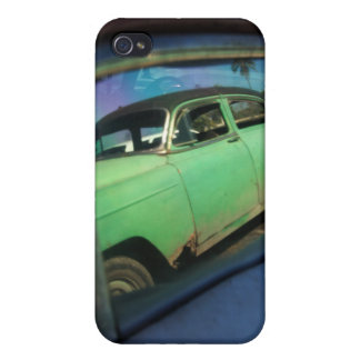 Cuban car reflection cases for iPhone 4