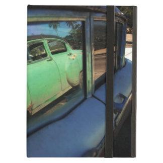 Cuban car reflection iPad air covers