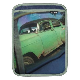 Cuban car reflection iPad sleeves