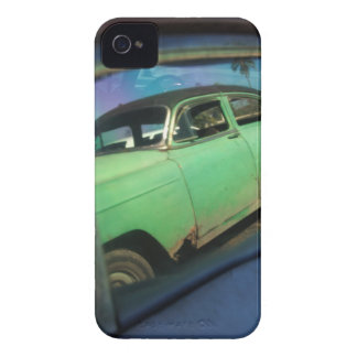 Cuban car reflection iPhone 4 cover