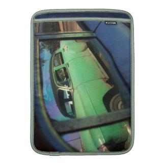 Cuban car reflection MacBook air sleeves